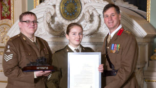 Cadet of the Year Award – December 2017