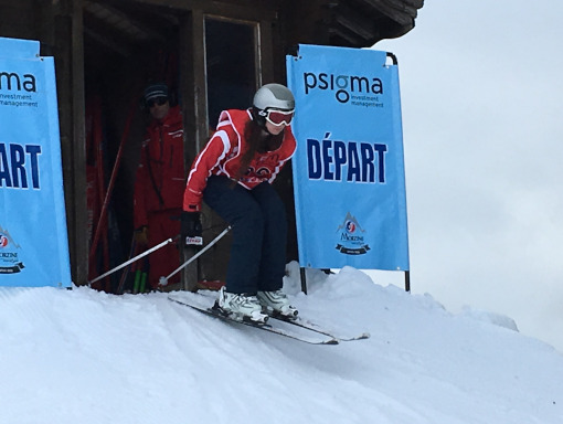 Interlivery Skiing