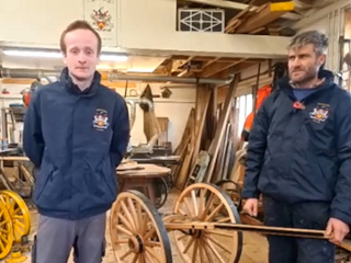 Virtual Lord Mayors Show 2020 - Wheelwrights Apprentice Tom Carroll