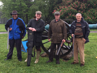 Wheelwrights at Inter-livery Clay Pigeon Shooting
