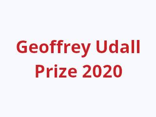 Geoffrey Udall Prize 2020