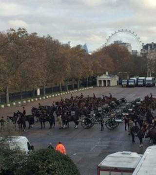 Kings Troop on parade - 2019