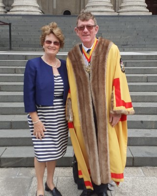 Lord Mayors Service of Reflection - Master and Marianne