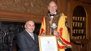 Master Wheelwrights Award 2017 – Peter Norfolk OBE