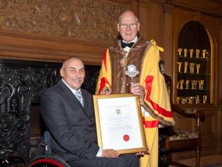 Master Wheelwrights Award 2017 - Peter Norfolk presentation