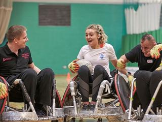 Melanies Story - wheelchair basketball