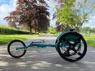 Melanies Story - racing wheelchair