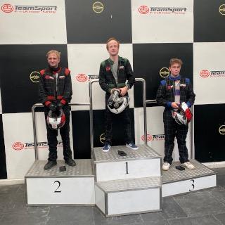 Go Karting - The Winners