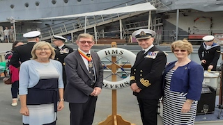 HMS Severn Recommissioning – 28th August 2021